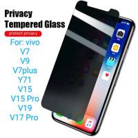 Vivo V9 V7 plus Y71 V19 V15 V17 Pro Antigores Tempered Glass Spy TG