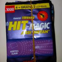 Obat Nyamuk Electric HIT MAGIC Bakar Kertas Sachet 1000 Isi 12 Pcs