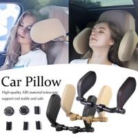 Headrest Neck Travel Pillow Bantal Penyangga Kepala Leher Jok Mobil