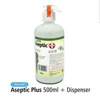 Aseptic Plus / Aseptic Liquid 500 ml + pump / Dispenser - Onemed