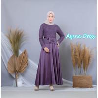 Baju Gamis - Gamis Kebaya / Brukat (Ayana Dress 20252)