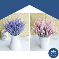 Tanaman Palsu Kecil Plastik Hias Pot Bunga Artificial Daun Rambat