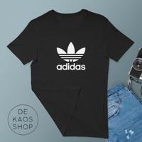 059 Kaos tshirt baju tumblr tee unisex Adidas Logo Klasik 2 warna