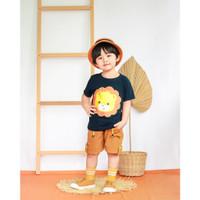 Pakaian Anak Baju Setelan Stelan Kaos Anak Laki Laki Cowok 1 2 3 Tahun