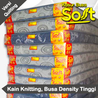 Kasur Busa Super Soft Tebal 18 cm Kain Springbed Full Quilting - 90 x 200 cm