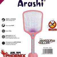 Raket Nyamuk Arashi ARL194 PHOENIX Charger