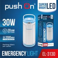 EMERGENCY Light Push On EL-3130/ 3 Sisi 30watt / Lampu Darurat PUSH ON