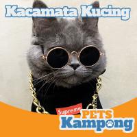 Kacamata kucing anjing gaul warna warni