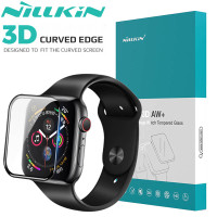 Nillkin AW 3D Tempered Glass Apple Watch 44mm - Antigores Layar Ori