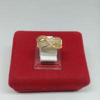 cincin Dewasa Asli xuping lapis emas 24k cc41