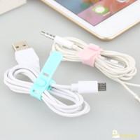 Pengikat Kabel Charger Headset USB Serbaguna Bahan Silikon