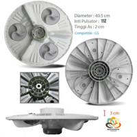 Pulsator Baling Putaran Piringan Mesin Cuci LG Diameter 40 cm
