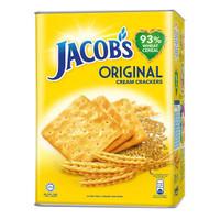 Biskuit Jacob Original Kaleng / Jacobs Original Cream Crackers 700gr