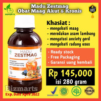 Zestmag Madu Premium Khusus Asam Lambung Obat Maag Akut Kronis & Gerd