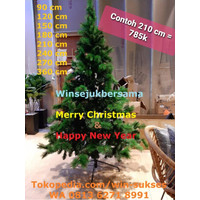 Pohon Natal 180 cm / Pohon Natal 1.8 m / Pohon Natal 6 feet / 6 ft