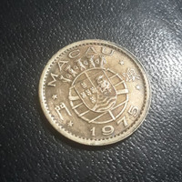 Makau ( Macau ) - 10 Avos 1975 : Koin / Asing / Kuno