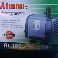 Atman Power Liquid Filter AT-103 Pompa Aquarium Aquascape