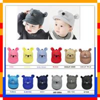 Topi Bayi Karakter Kucing / Topi Kucing Bayi / Topi Bayi Lucu