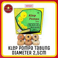 Klep Pompa Tabung Kulit Simwha Diameter 2.5cm