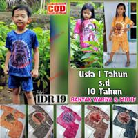 Setelan Kaos Anak Usia 1 Sampai 10 Tahun - Setelan Baju Wayang Anak