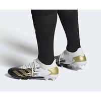 Sepatu Bola Adidas Predator 20.3 Low FG White Black Gold Original