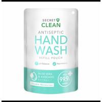 Secret Clean HANDWASH Antiseptic 200 ml Aloevera Avocado