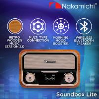 Nakamichi Soundbox LITE Speaker Portable Audio Wireless Bluetooth