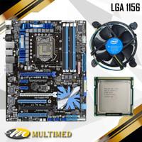 PROMO Mainboard Soket 1156 H55/P55 ATX Asus Plus Core i3 540 plus FAN