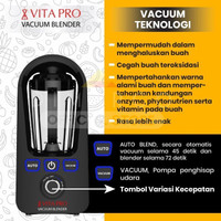 vacuum blender Vitapro electric juicer extractor