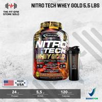 Muscletech Nitrotech Whey Gold 5,5 Lbs Nitro Tech Whey Gold Standart