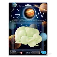 4M Sticker Glow In The Dark 3D Planet Solar System Hiasan Langit