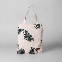 Pamole - Tote Bag Kekinian Motif Tropical Daun Bahan Kanvas