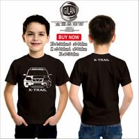 Kaos Baju Anak Mobil NISSAN XTRAIL X-TRAIL Kaos Anak Otomotif - Gilan - XS
