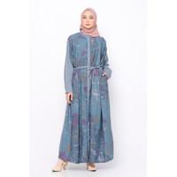 ZM Zaskia Mecca - Ikumi Blue Dress - Jelita Indonesia Edisi Derawan
