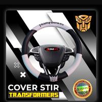 Cover setir Transformer mobil Wuling Almaz Confero Cortez Formo - Putih