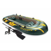 Perahu Karet SEAHAWK 4 Boat Set 4 orang INTEX 68351