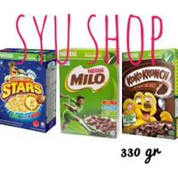 nestle koko crunch milo honey stars 300 330 gr cereal sereal