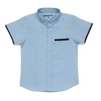 Atasan Baju Kemeja Anak Laki-Laki Cowok Polos Katun Umur 1-8 Th Murah