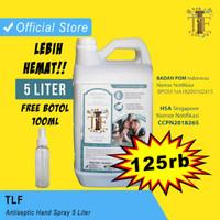 TLF Hand Sanitizer Spray 5 Liter / Antiseptik Cair Alkohol Denat 70%