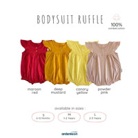 ARDENLEON Ruffle Bodysuit