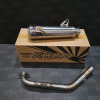 Knalpot Racing Kawahara GT Pro Yamaha Aerox 155