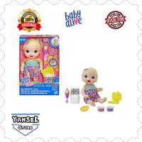 Baby alive super snacks snackin' Lily/boneka bisa makan dan poop murah