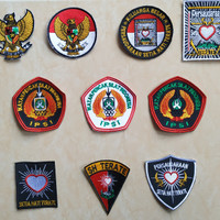 Bet Bordir PSHT /Badge Silat SH Terate /badge IPSI /bet dada psht