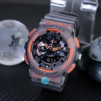 Jam Tangan Pria Sport Digitec DG 2020 Dual Time Anti Air Original HO