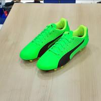 Sepatu Bola Puma Adreno III FG/Green Black Grey