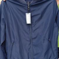 Bomber Jacket Marks and Spencer Stormwear Tech warna Navy