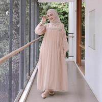 Baju Gamis Panjang Wanita Pesta Kondangan Terbaru 2020 Gamis Brukat