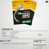 Senar Badminton Yonex Nanogy 95 NBG 95 Badminton String