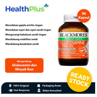 Blackmores Glucosamine & Fish Oil (90 Kapsul) - HealthPlus+