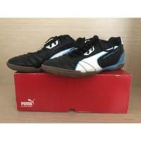 Sepatu Futsal Puma Black White Fluo Size 42 BNIB Originals